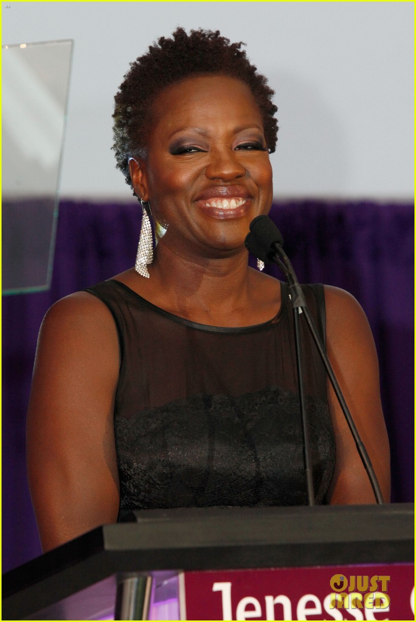 viola davis octavia spencer silver rose awards 122844726