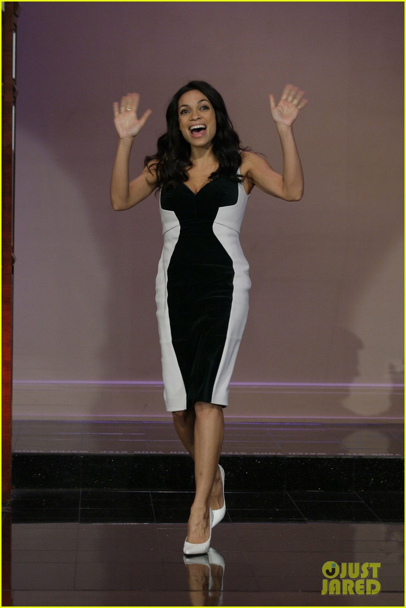 rosario dawson tonight show with jay leno visit 012843089