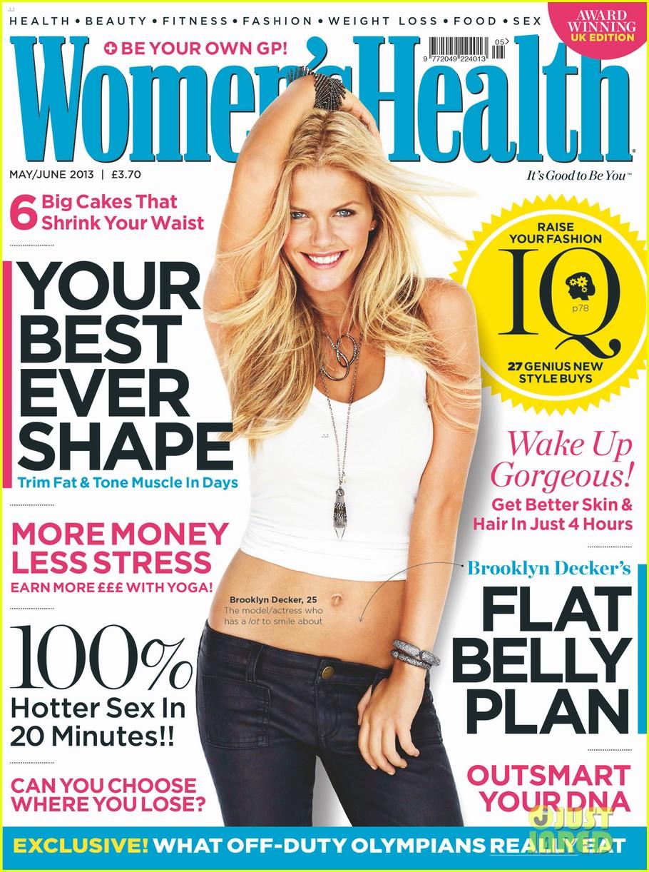 brooklyn decker covers womens health uk mayjune 2013 012841958