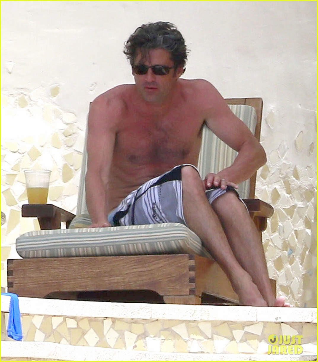 patrick dempsey shirtless mexico vacation with the family 022841318
