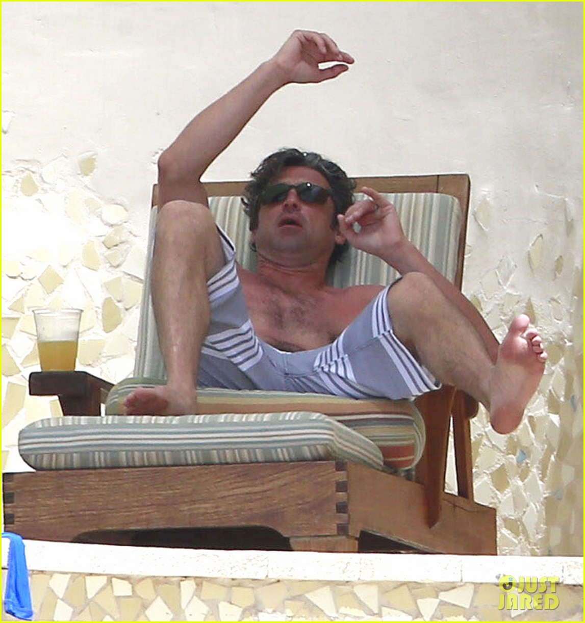 patrick dempsey shirtless mexico vacation with the family 072841323