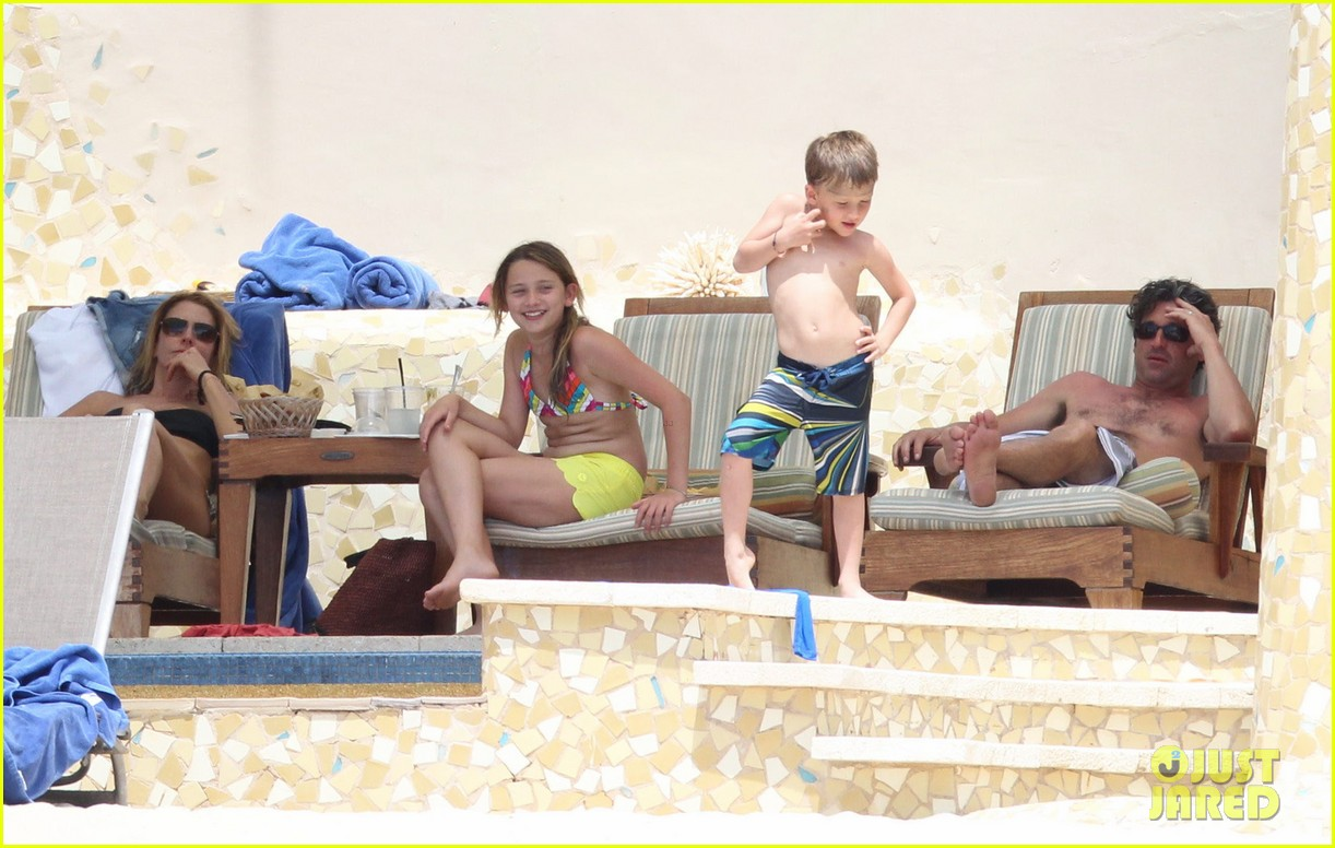 patrick dempsey shirtless mexico vacation with the family 162841332