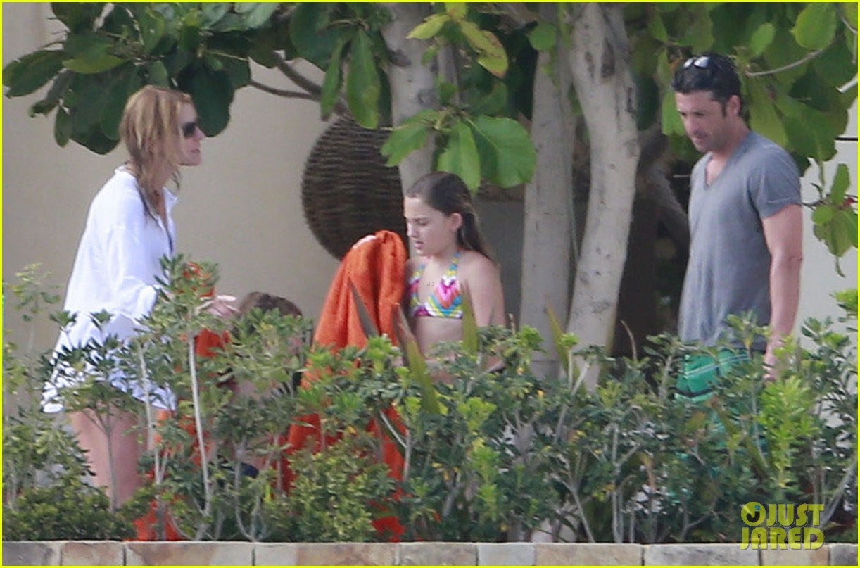 patrick dempsey shirtless mexico vacation with the family 302841346