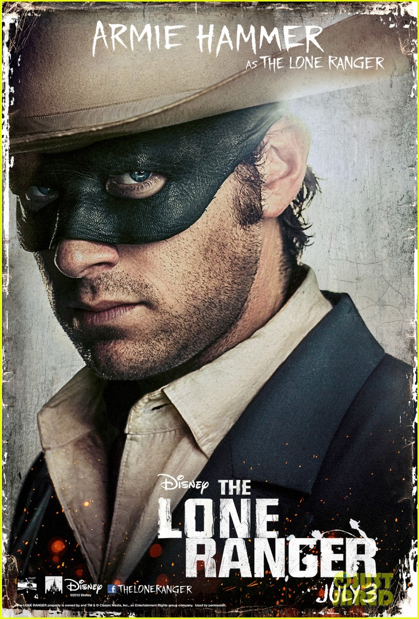johnny depp lone ranger final trailer character posters 012852085