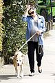 jenna dewan baby bump dog walk 03