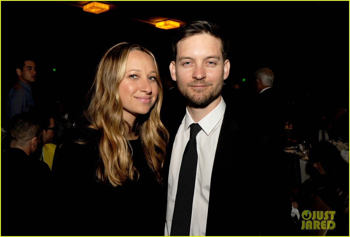 leonardo dicaprio tobey maguire glaad media awards 2013 04