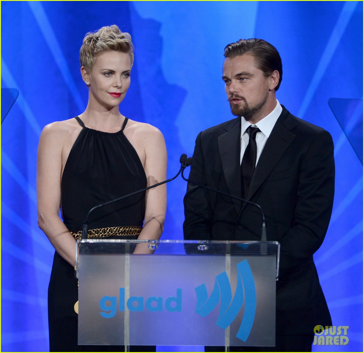leonardo dicaprio tobey maguire glaad media awards 2013 162854512