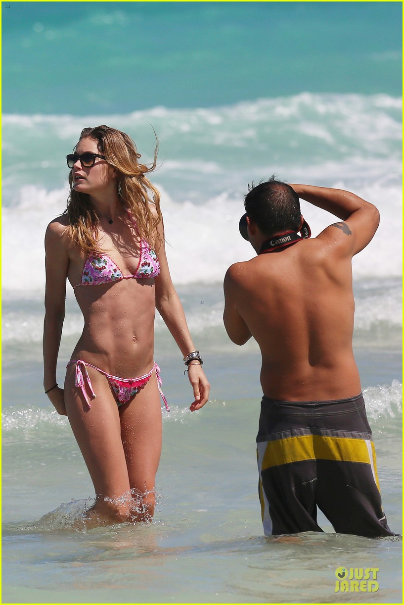 doutzen kroes bikini photo shoot with sunnery james 392860970