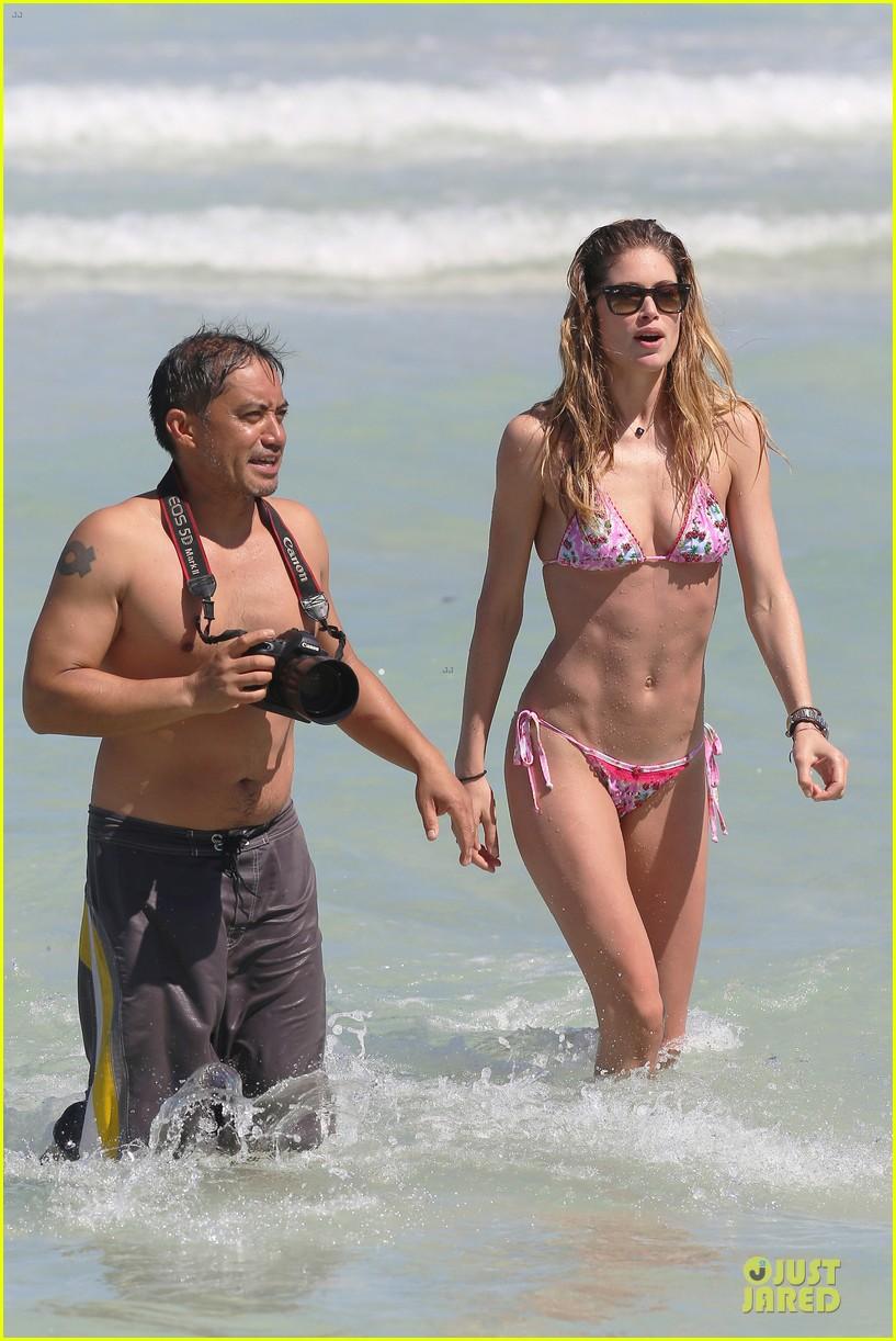doutzen kroes bikini photo shoot with sunnery james 422860973