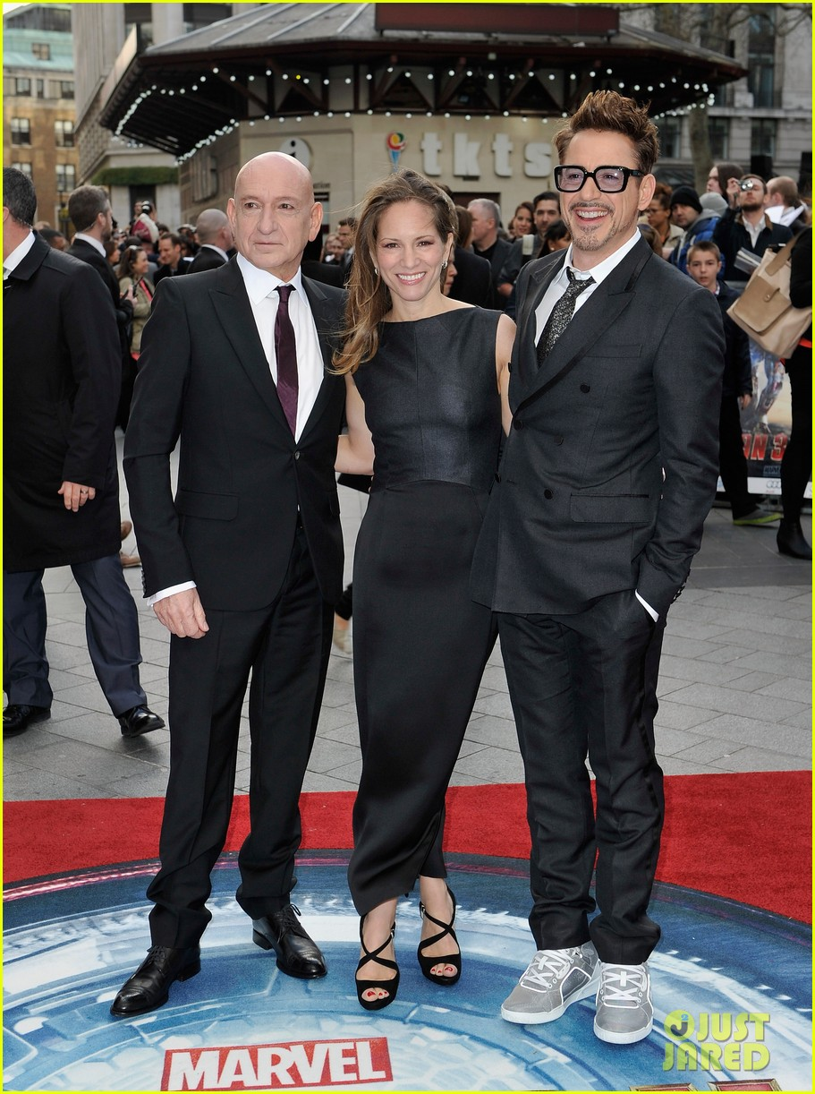 robert downey jr samantha barks iron man 3 london premiere 112852763