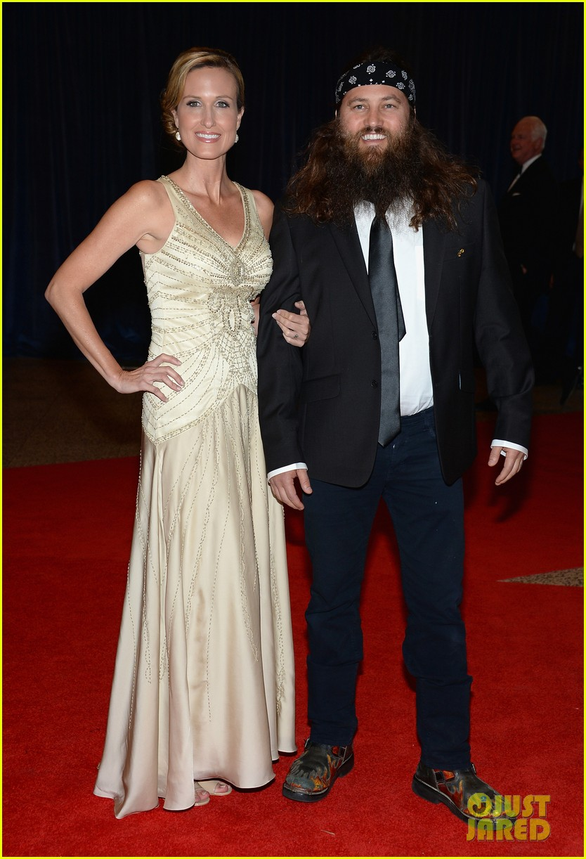 duck dynasty stars white house correspondents dinner 2013 012859627