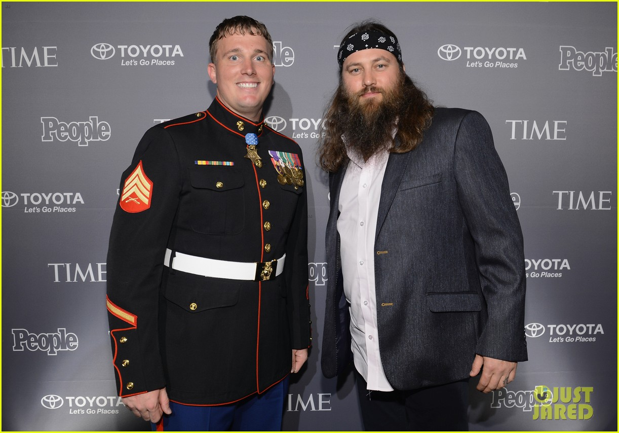 duck dynasty stars white house correspondents dinner 2013 082859634