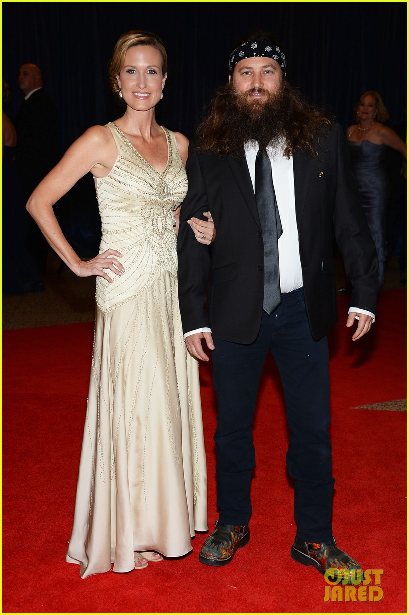 duck dynasty stars white house correspondents dinner 2013 10