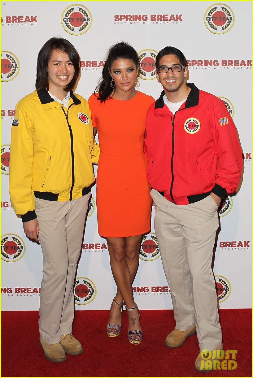ed westwick jessica szohr city year los angeles fundraiser 2013 04