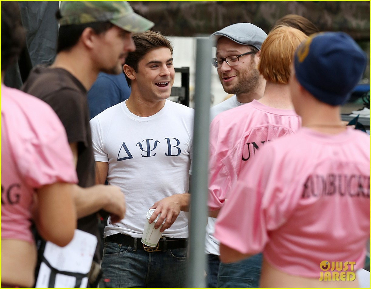 zac efron frat tattoo on bulging bicep for townies 03