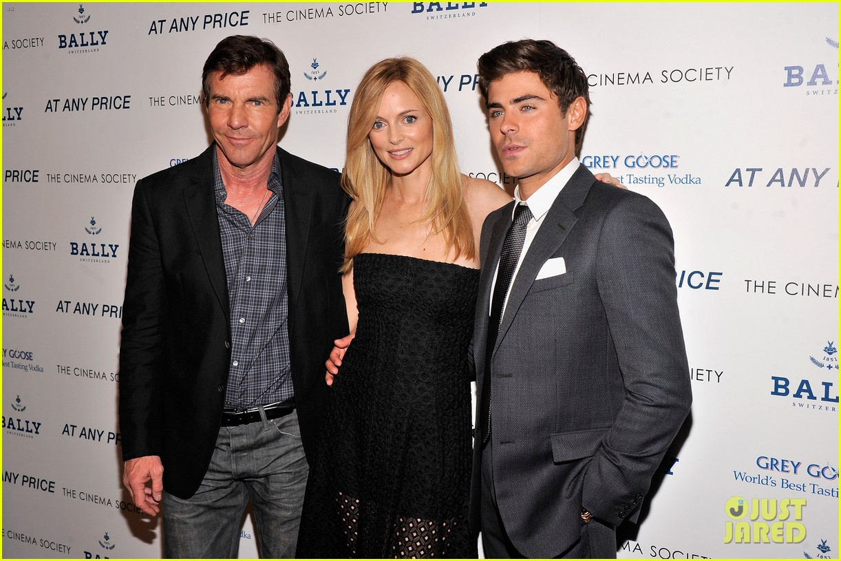 zac efron heather graham at any price nyc premiere 022853021