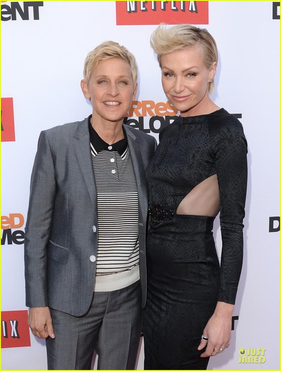 Ellen DeGeneres And Portia De Rossi Are Grateful For Being Kid ...