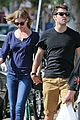 emily vancamp joshua bowman lunching lovebirds 10
