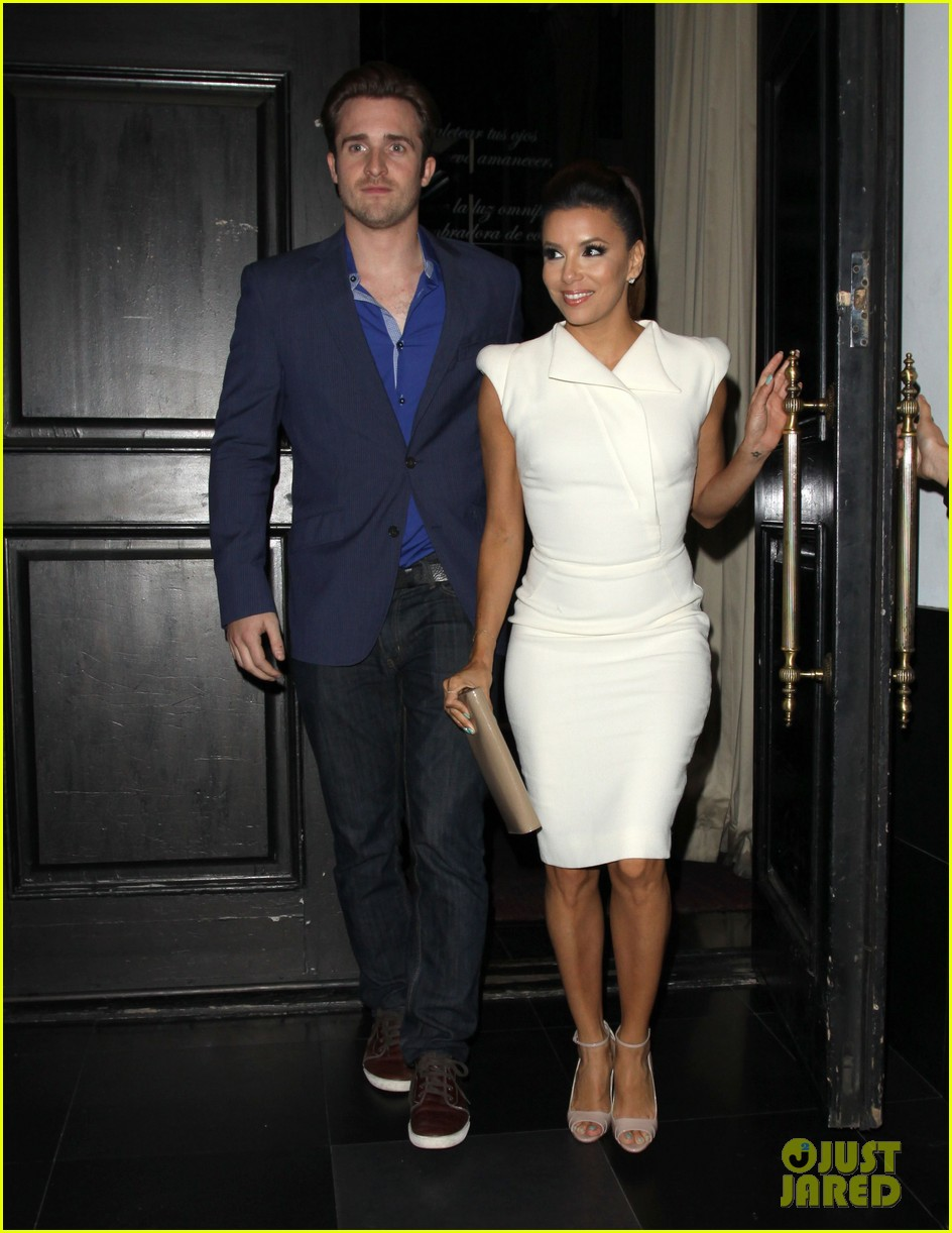 eva longoria beso dinner with ernesto arguello 012857236