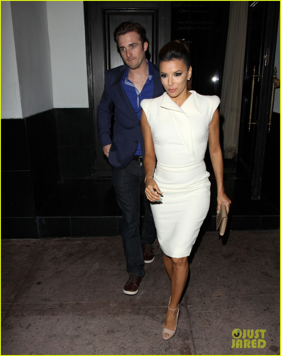 eva longoria beso dinner with ernesto arguello 052857240