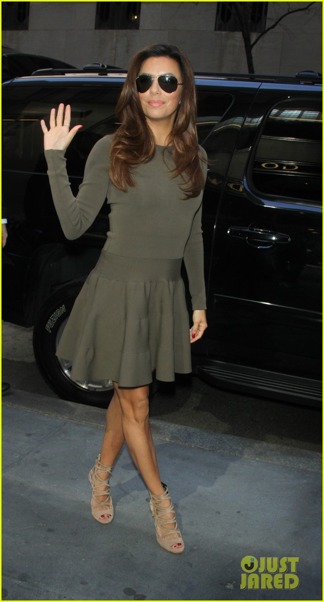 eva longoria tribeca lunch dr oz show 102853382