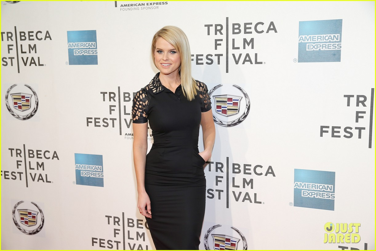 alice eve some velvet morning tribeca premiere 082855551