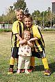 kevin federline cheers sean preston jayden james soccer games 09