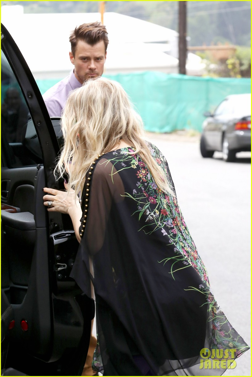fergie josh duhamel easter sunday church goers 322841128