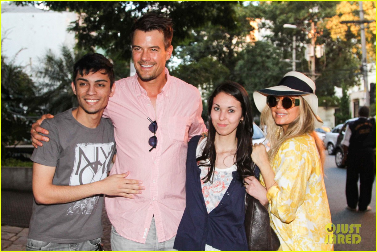 fergie josh duhamel sao paolo lunch lovebirds 012844747