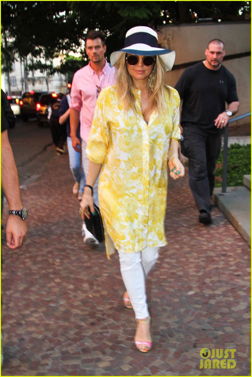 fergie josh duhamel sao paolo lunch lovebirds 052844751