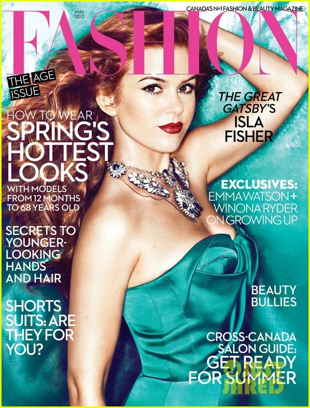 isla fisher covers fashion may 2013 01