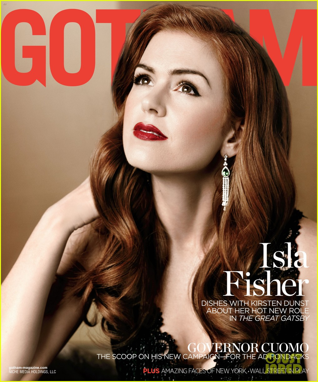 isla fisher gotham magazine cover party 052859021