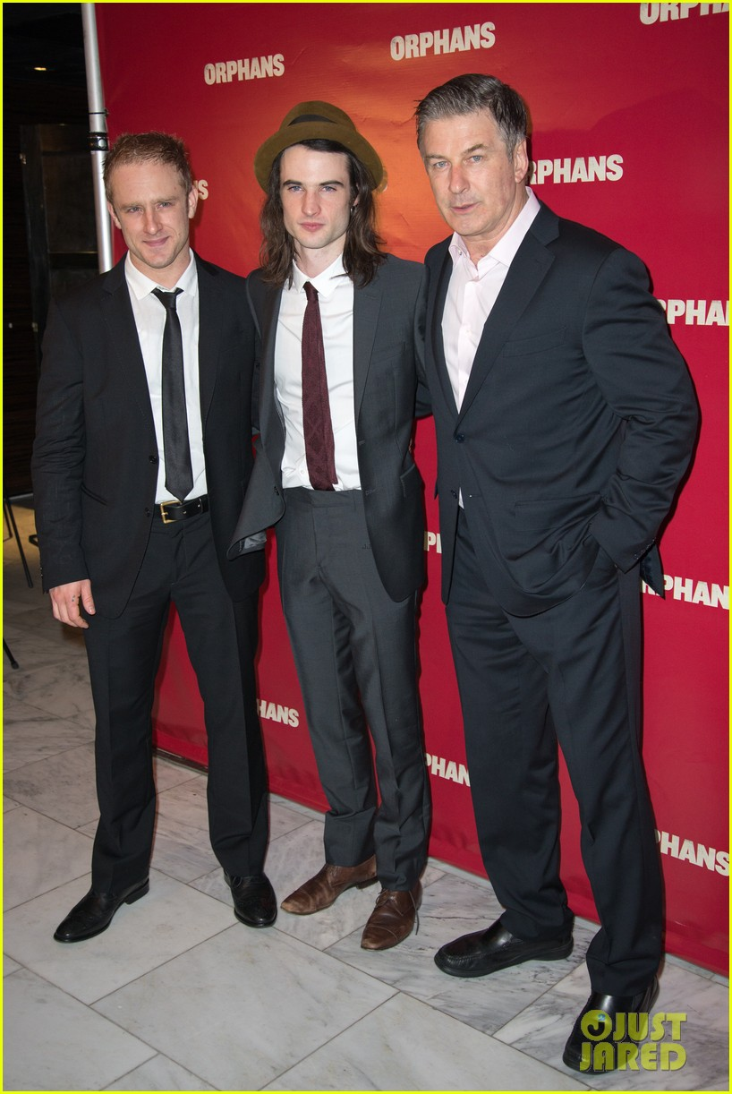 ben foster tom sturridge orphans broadway opening 012853599