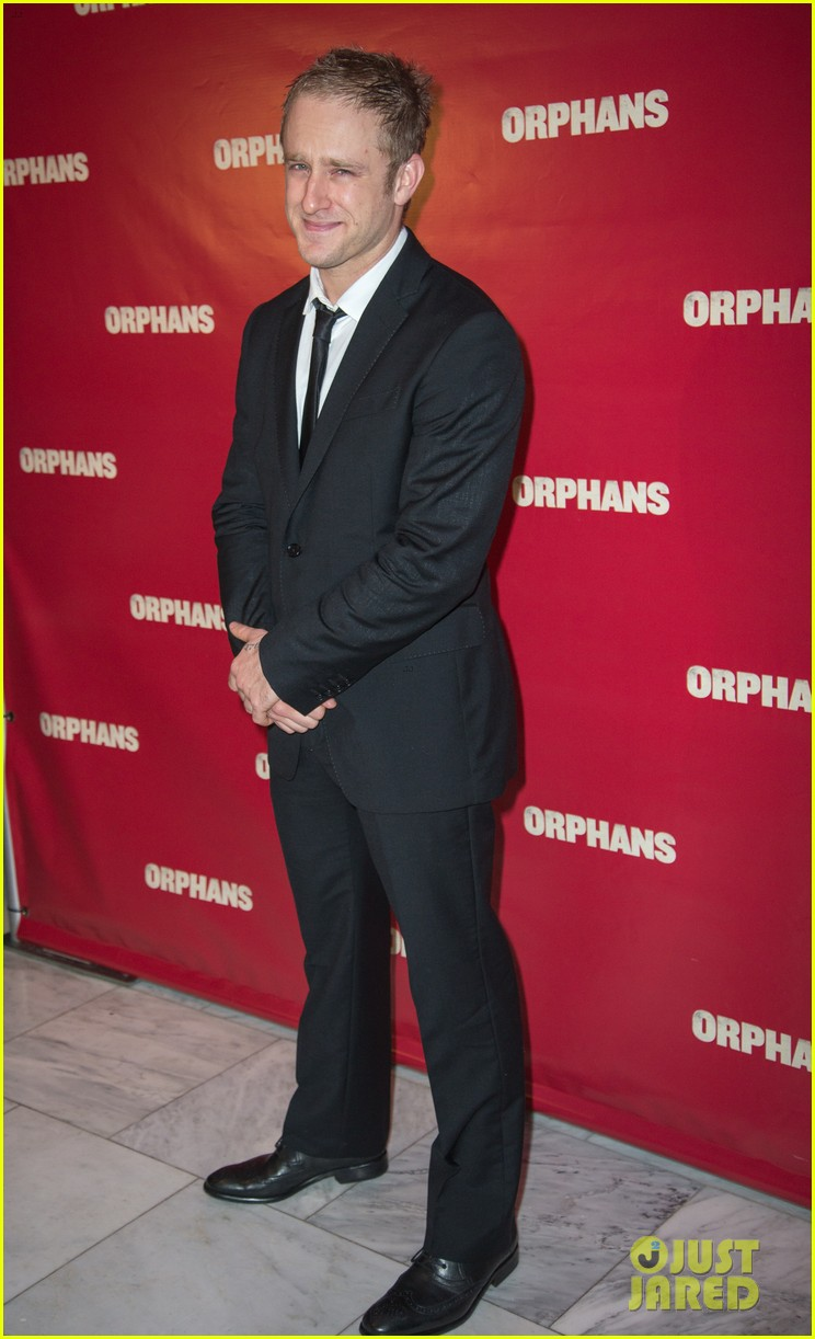ben foster tom sturridge orphans broadway opening 102853608