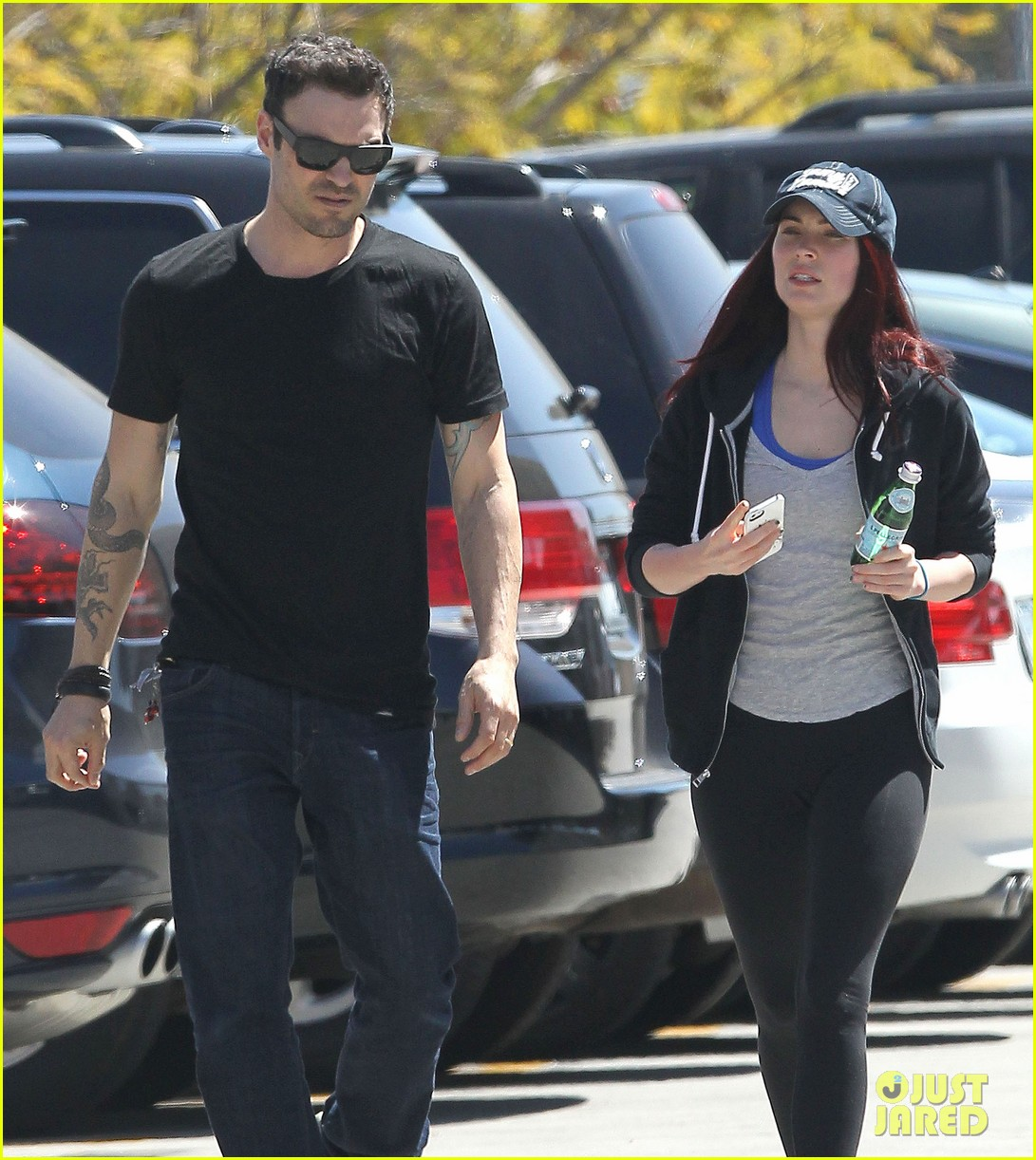 megan fox brian austin green sunday lunch lovebirds 07