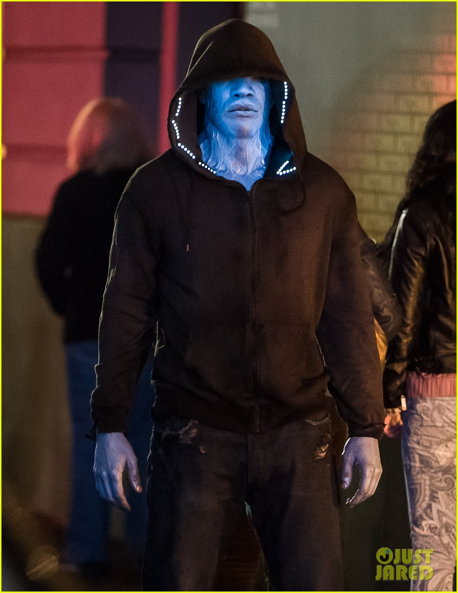 jamie foxx as electro in amazing spider man 2 first look 022851284