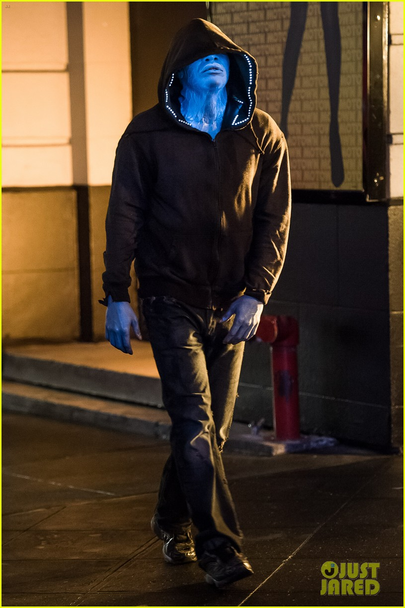 jamie foxx as electro in amazing spider man 2 first look 042851286