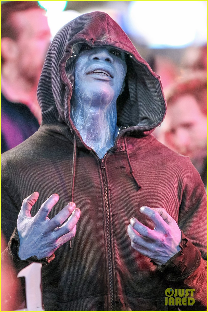 jamie foxx as electro in amazing spider man 2 first look 062851288
