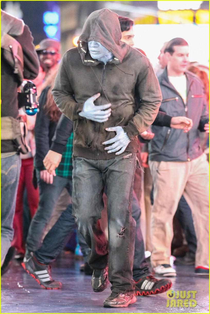 jamie foxx as electro in amazing spider man 2 first look 082851290