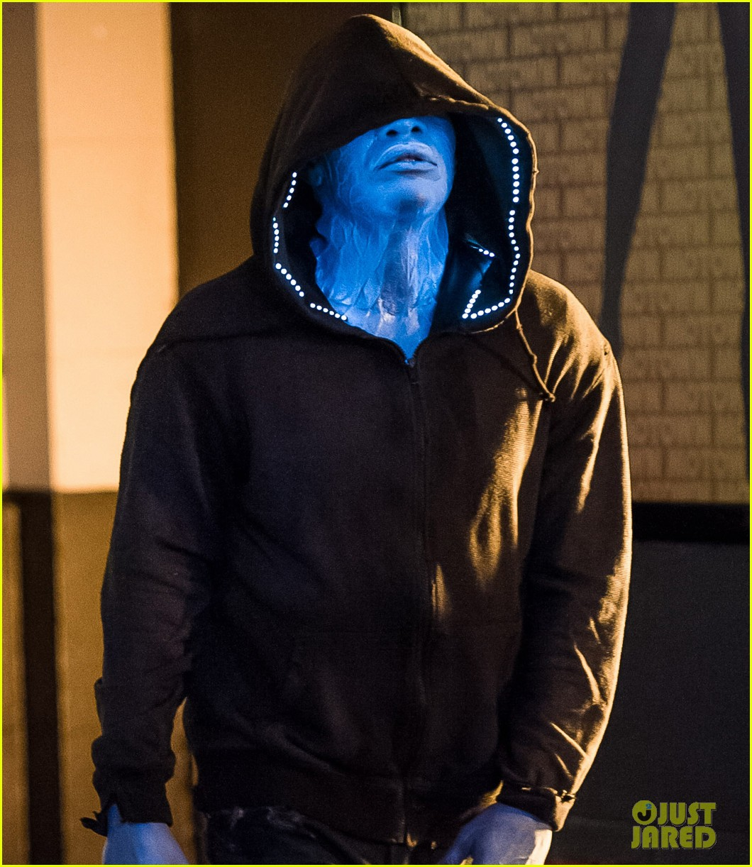 jamie foxx as electro in amazing spider man 2 first look 092851291