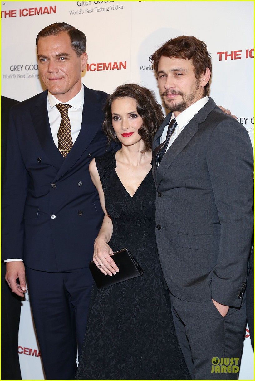 james franco winona ryder the iceman new york screening 042861053