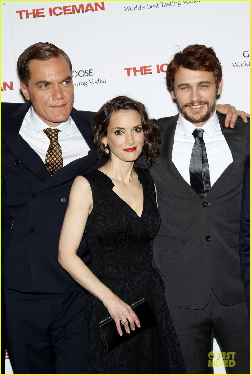 james franco winona ryder the iceman new york screening 11