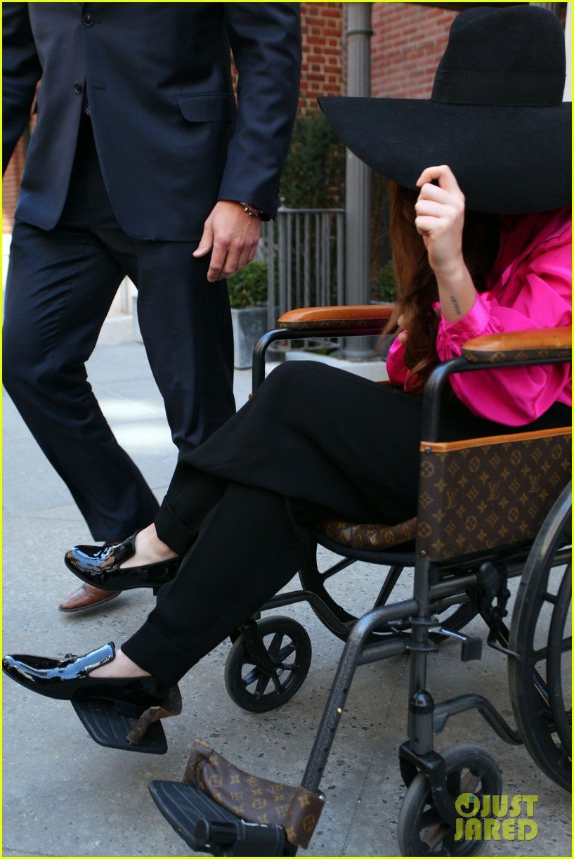lady gaga wheelchair recovery in nyc 062842712