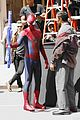 andrew garfield jamie foxx amazing spiderman filming duo 01