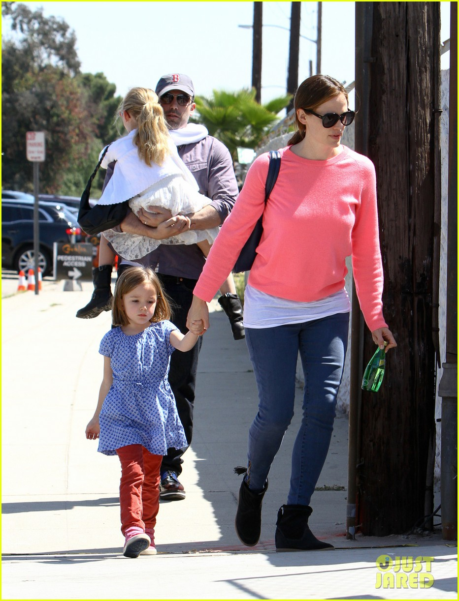 jennifer garner ben affleck cavalia odysseo with the kids 062844774