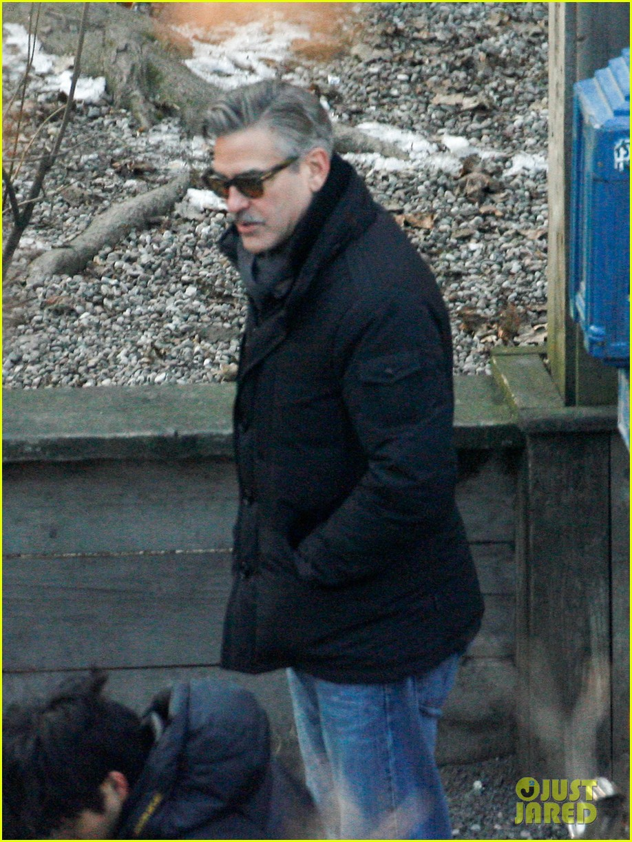 george clooney matt damon the monuments men in berlin 032843270
