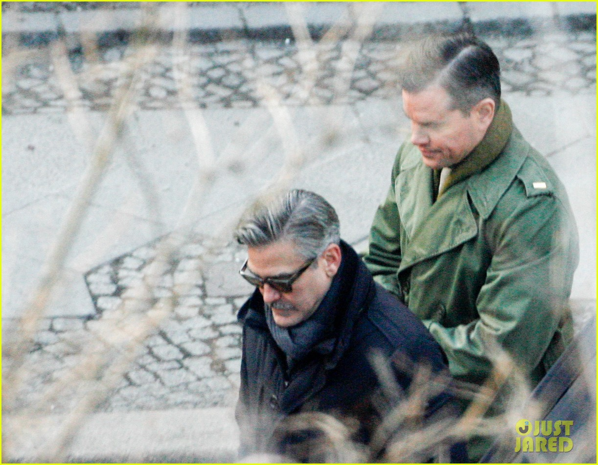 george clooney matt damon the monuments men in berlin 202843287