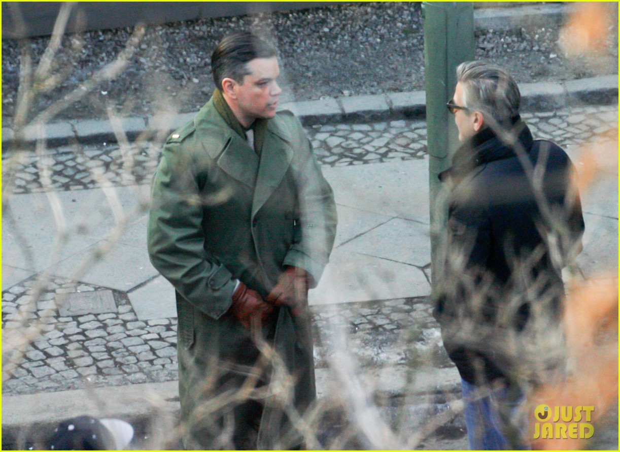 george clooney matt damon the monuments men in berlin 222843289