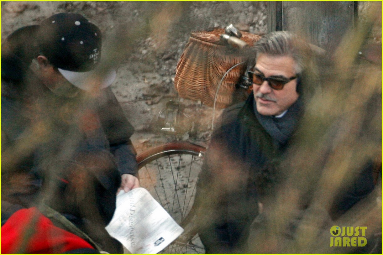 george clooney matt damon the monuments men in berlin 312843298