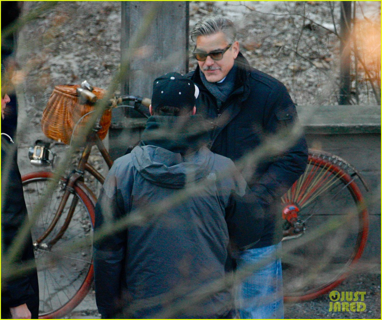 george clooney matt damon the monuments men in berlin 352843302